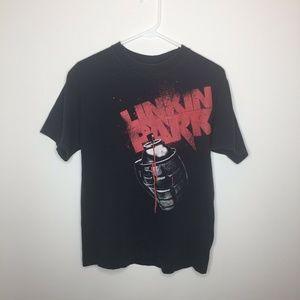 Mens M Linkin Park Black Graphic T-Shirt